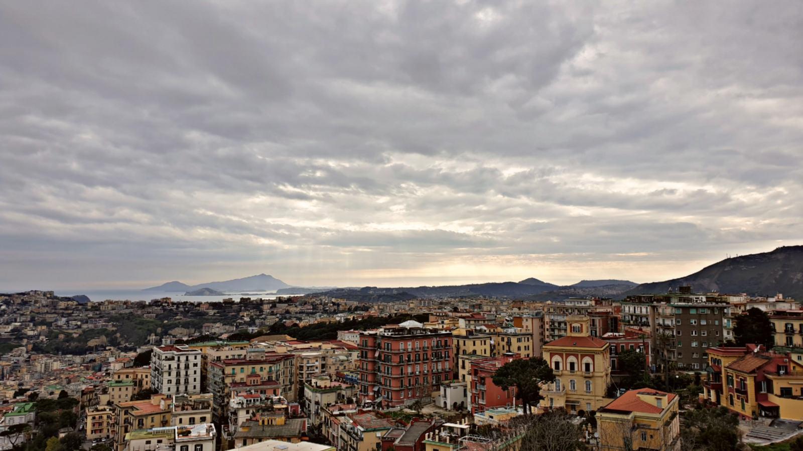 Vista di Napoli da Castel Sant'Elmo
