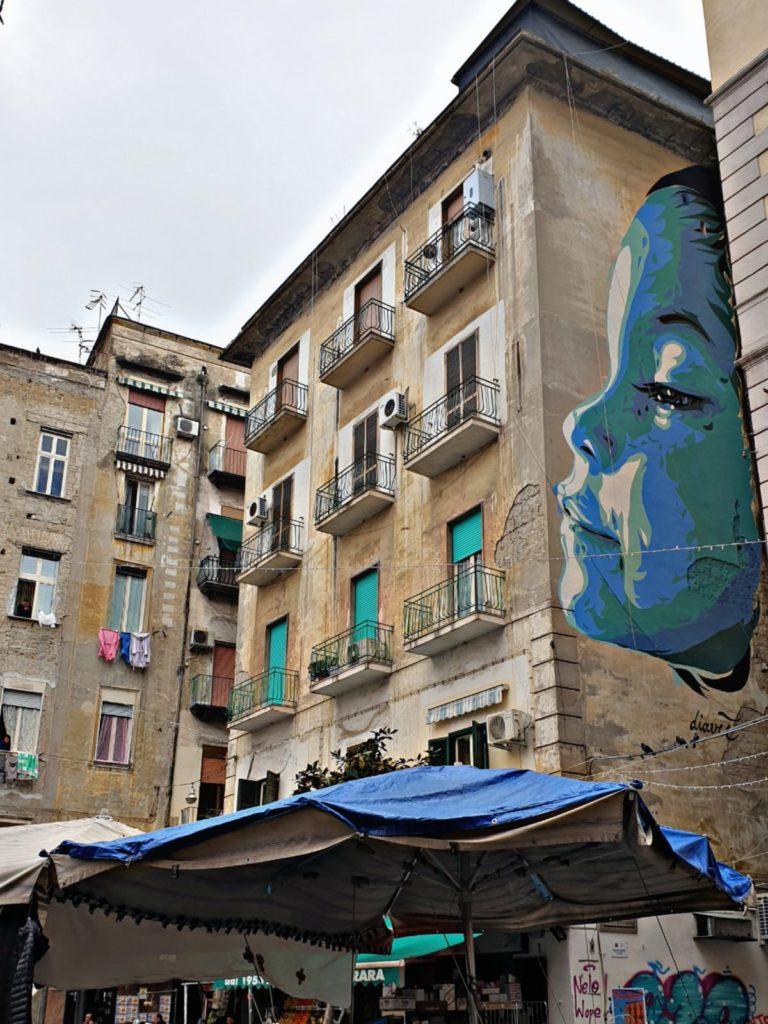 Murales dedicato a Mattia Fagnoni - Via Porta Medina