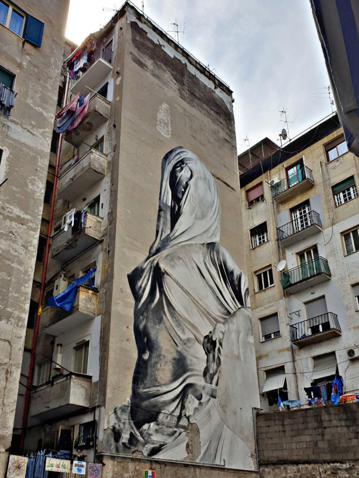 La Pudicizia - Via Emanuele De Deo - Quartieri Spagnoli