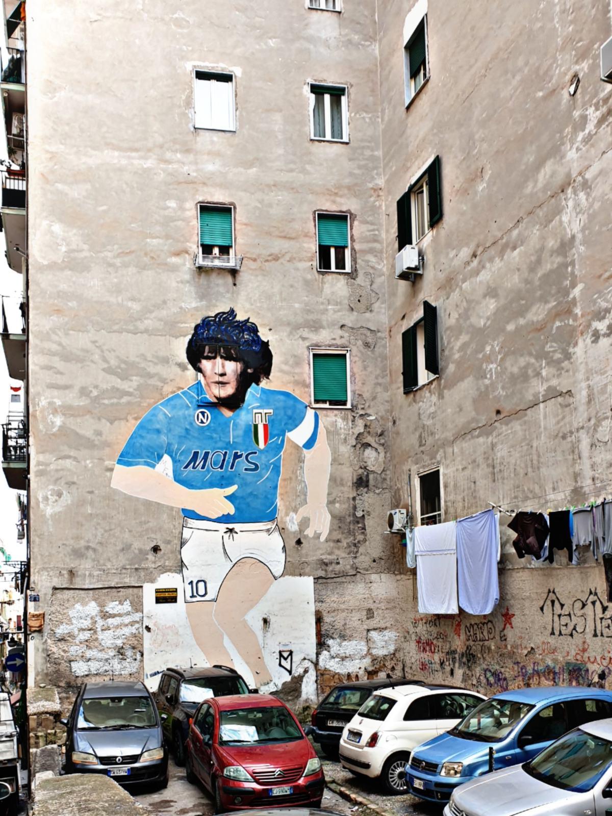 Maradona - Via Emanuele De Deo - Quartieri Spagnoli