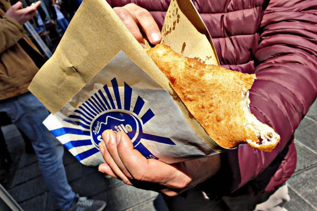Pizza fritta di Zia Esterina - Sorbillo