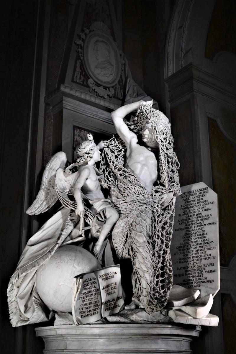 """Statua """"Il Disinganno"""""""