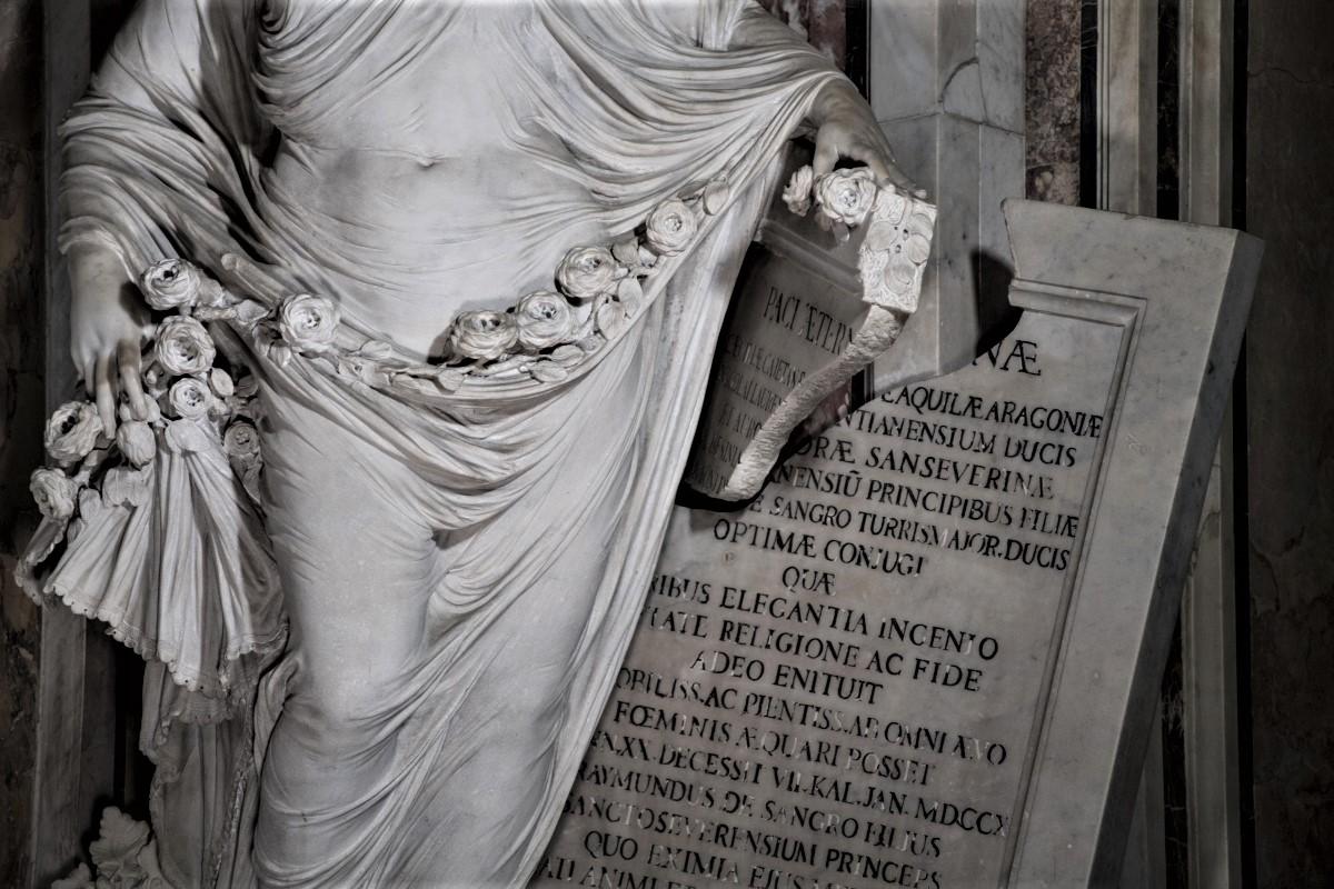 "Statua ""La Pudicizia"""