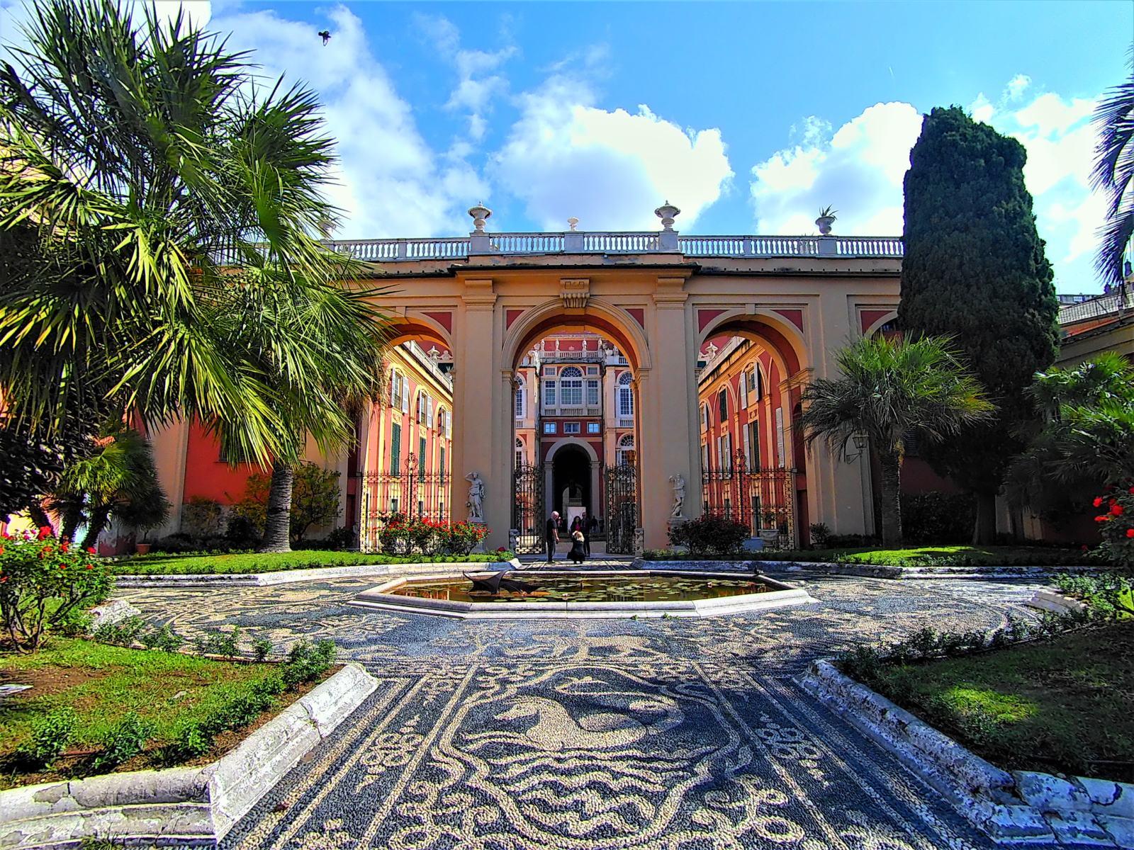 Giardino pensile di Palazzo Reale