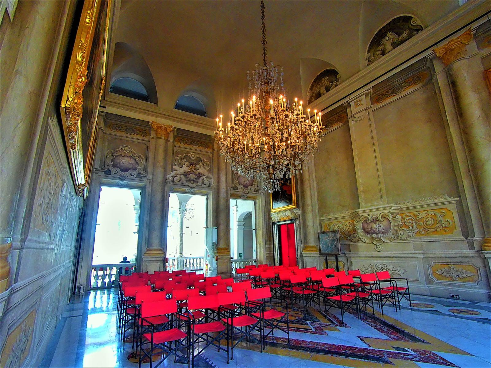 Sala di Palazzo Rosso - 2°Piano Nobile