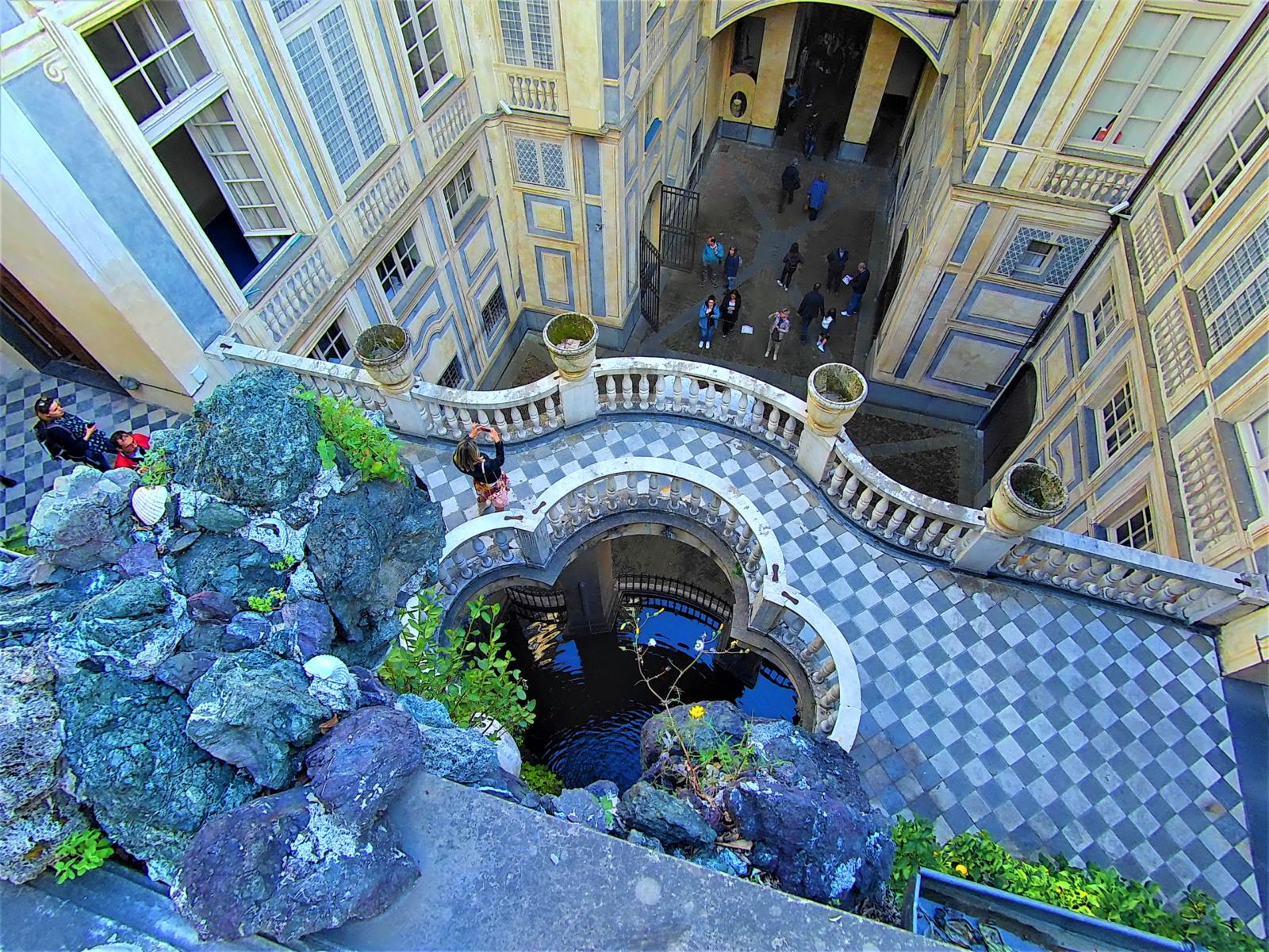 Palazzo Lomellini - Giardino a doppio livello