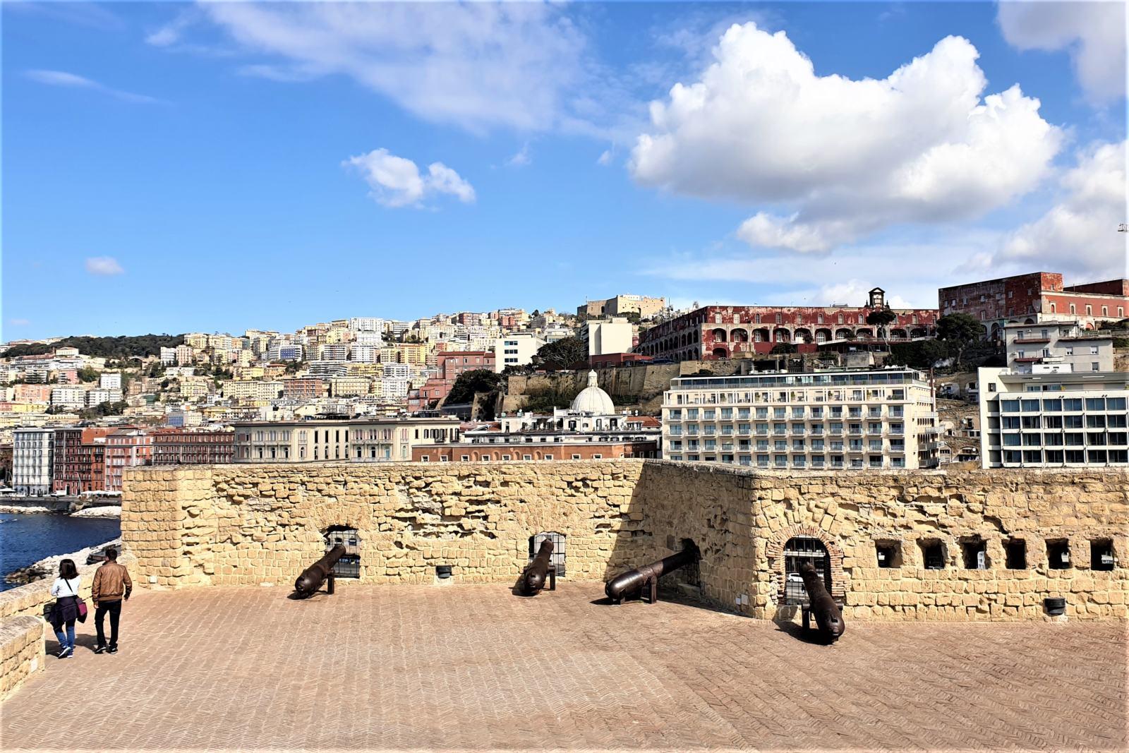 Vista dal giro di ronda di Castel dell'Ovo
