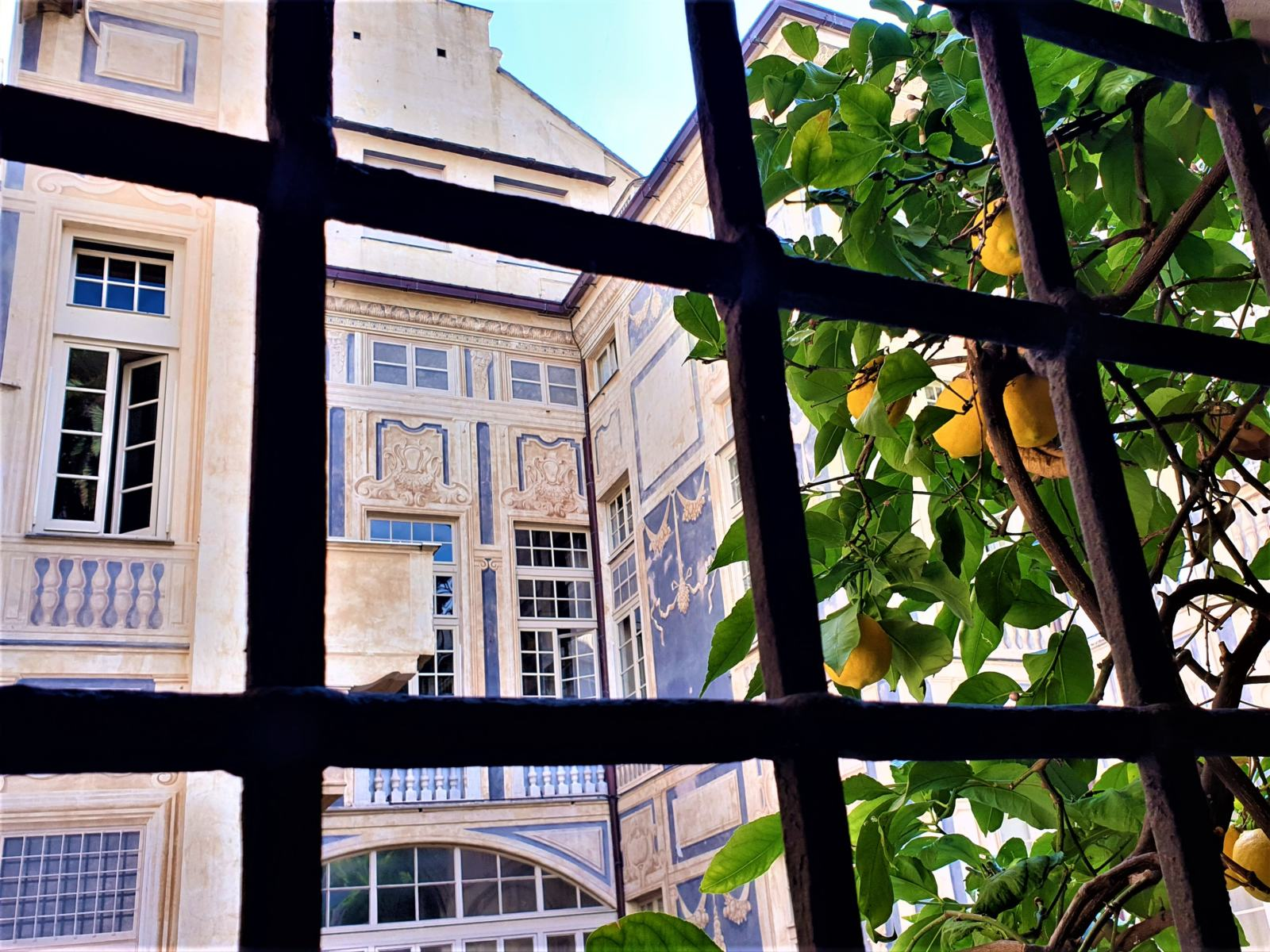 Scorcio Palazzo Lomellini