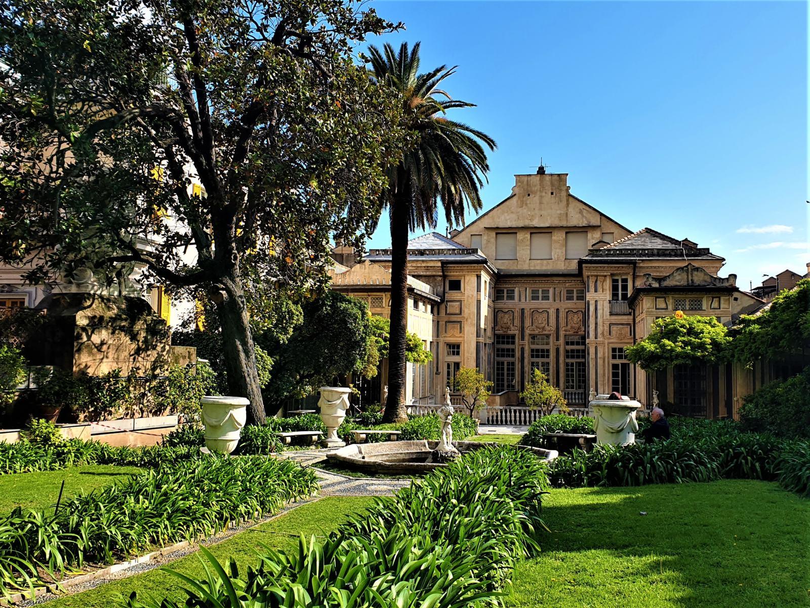 Giardino Palazzo Lomellini