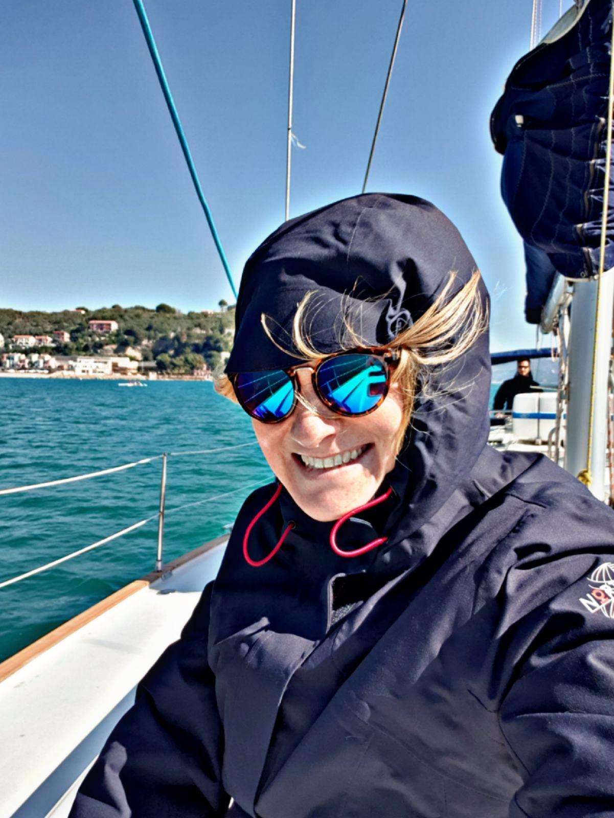 Io in barca a vela