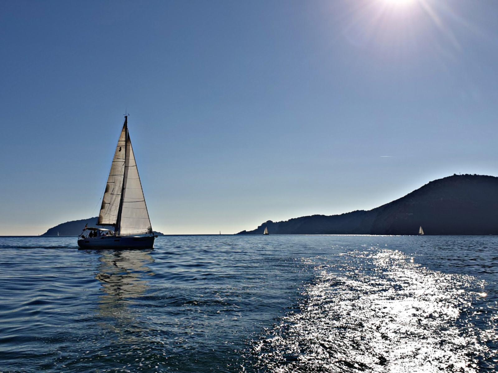 Veleggiando nel Golfo dei Poeti