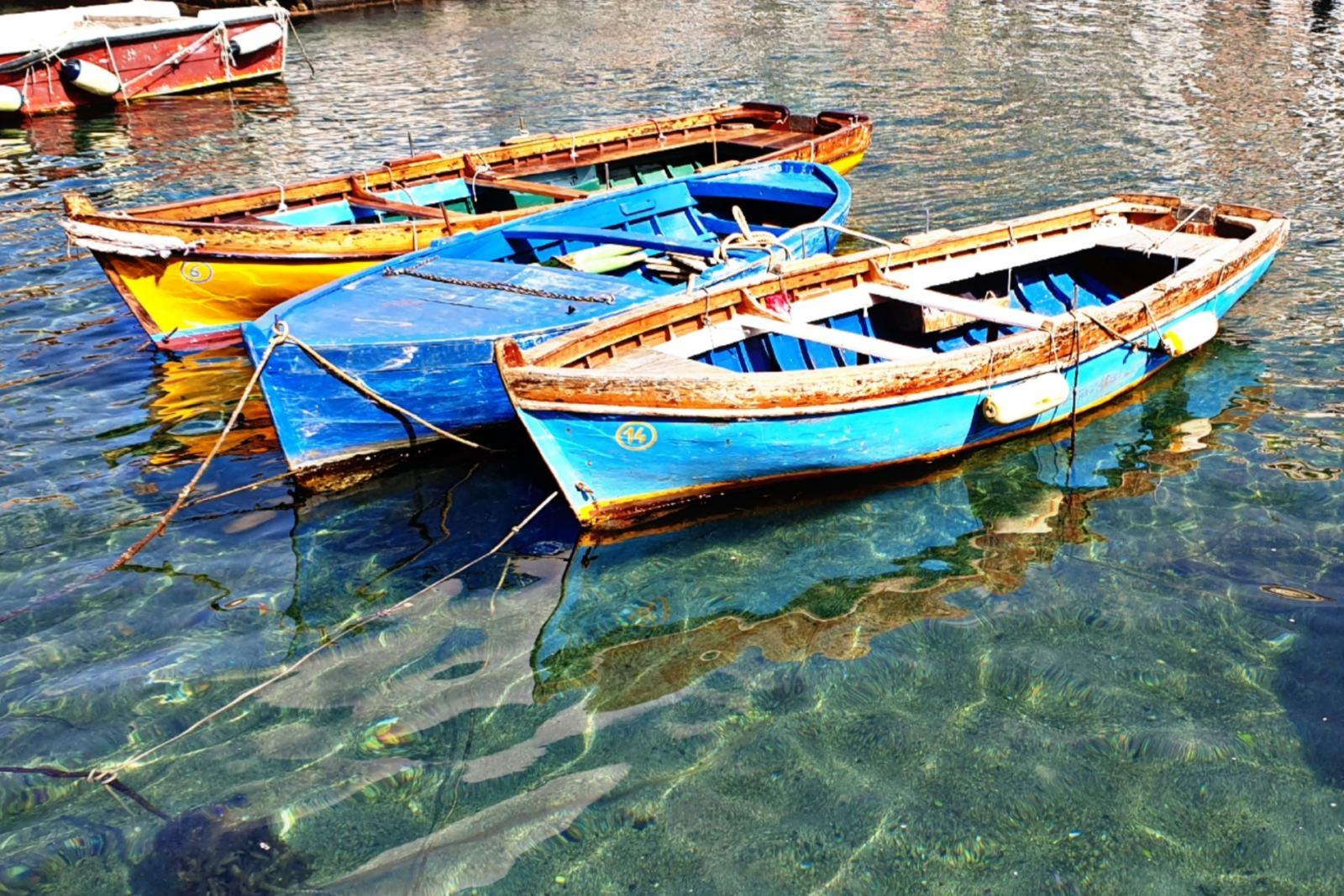 Borgo Marinari - Le barche dei pescatori
