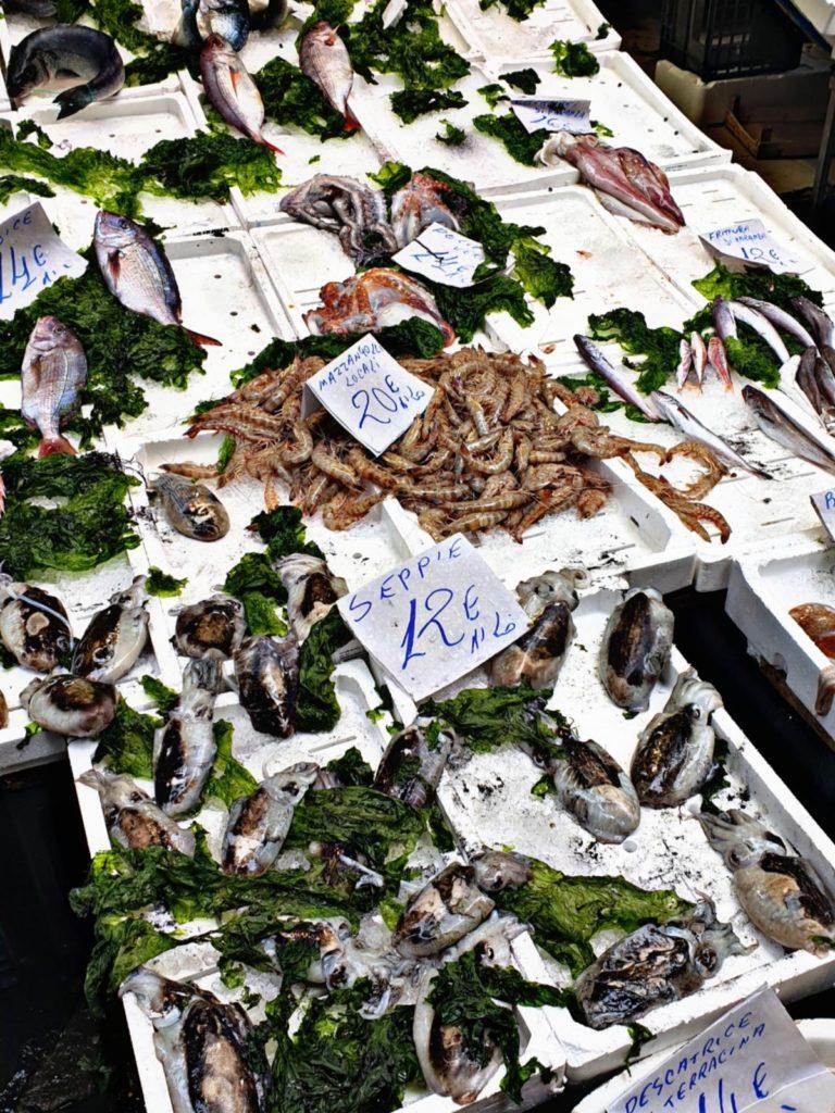 Pesce fresco - Mercato della Pignasecca