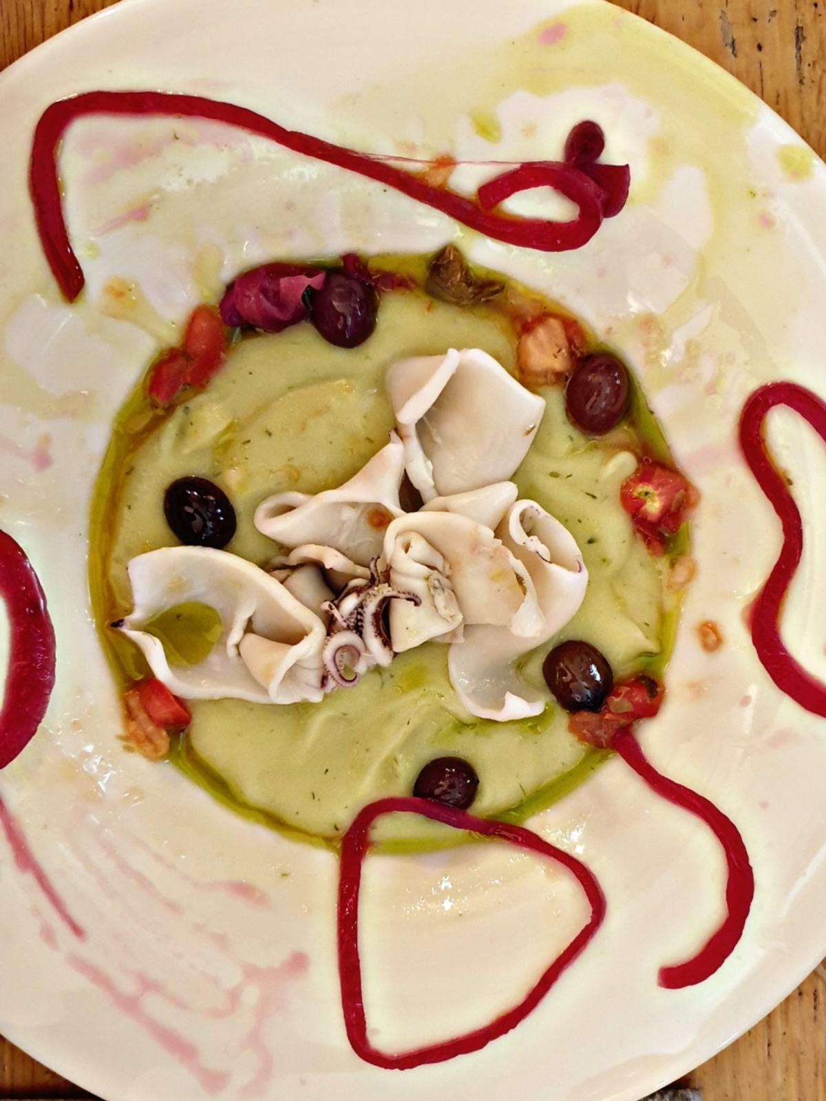 Seppie e olive taggiasche - Ristorante al Timone di Portovenere