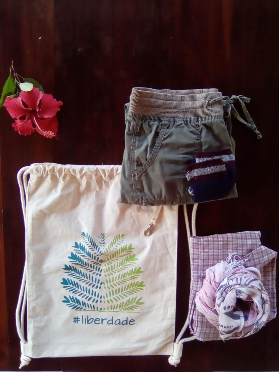 #smallthingstravelling - Set Organizer in cotone organico