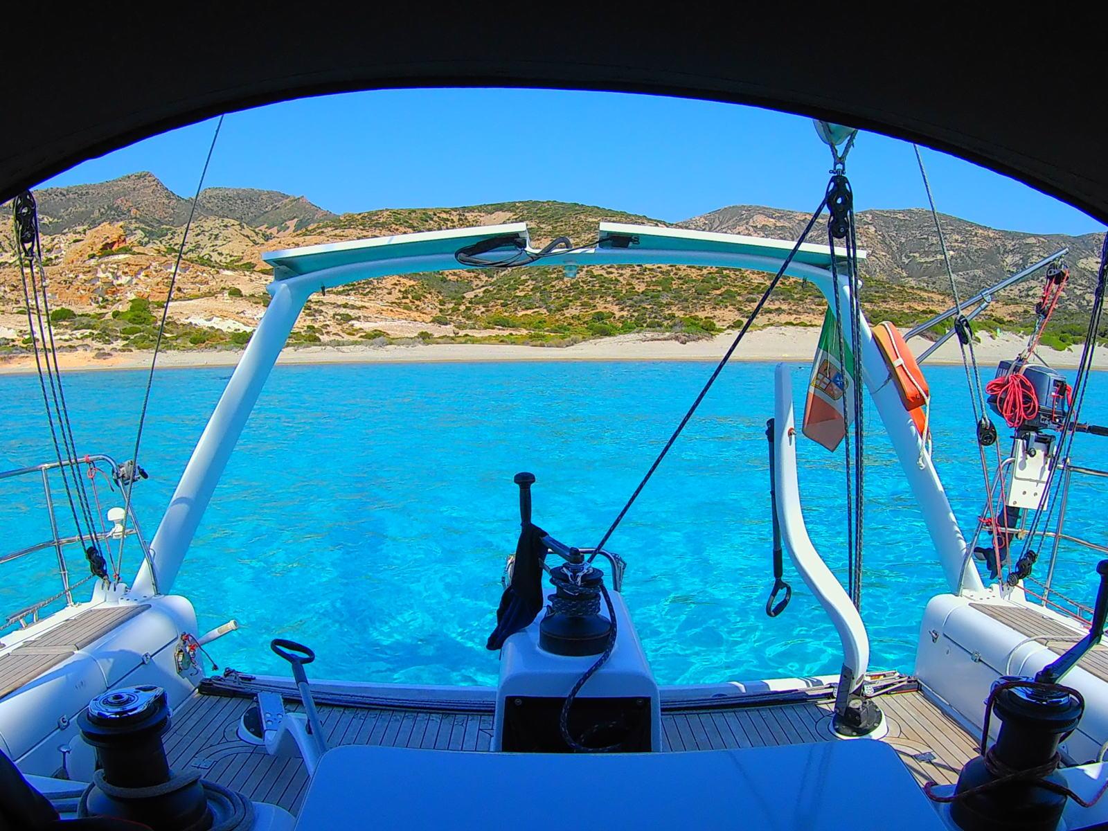 L'isola di Polyaigos - Cicladi - Grecia