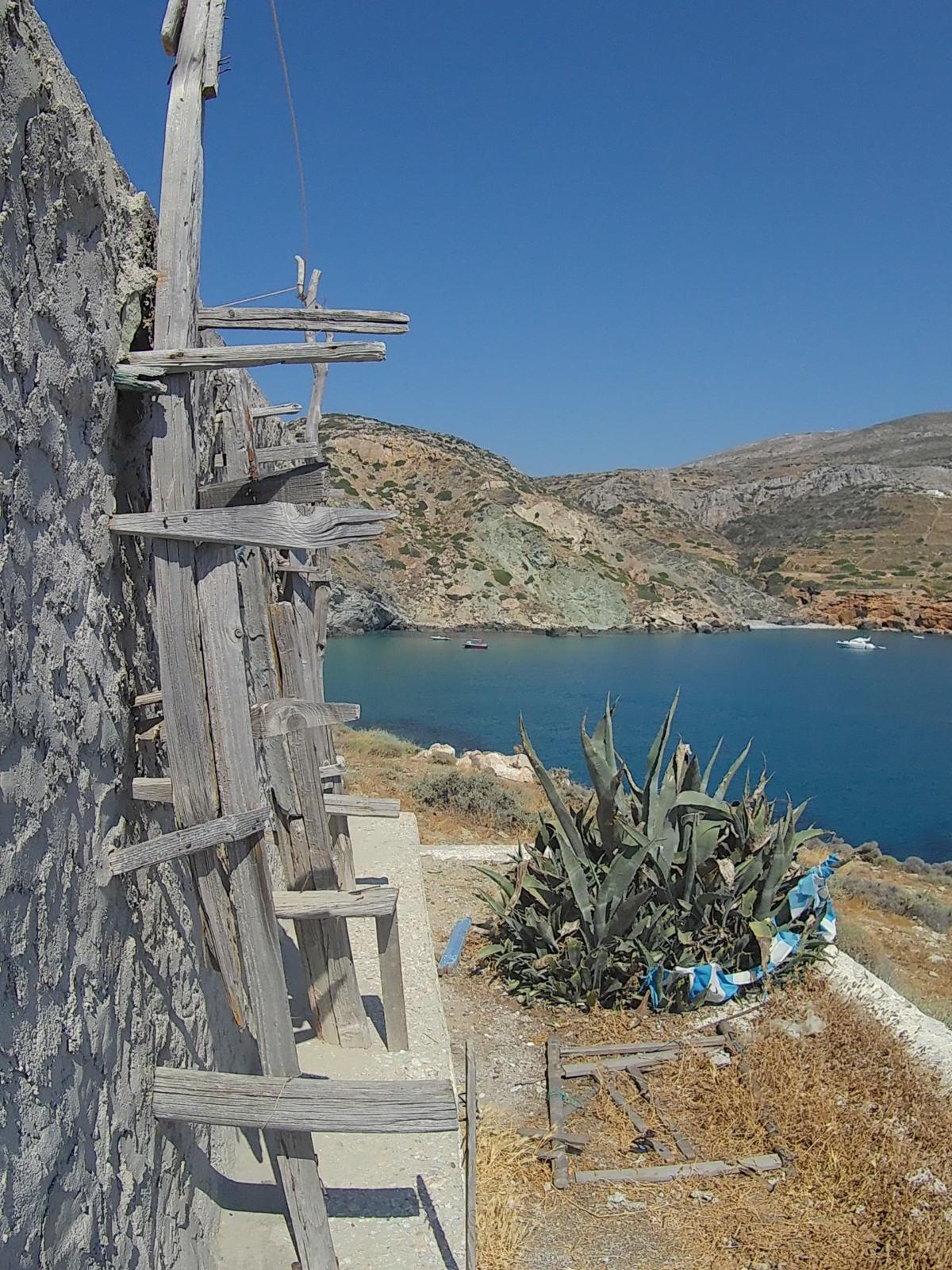 Vista dal sentiero tra Agali e Galifos