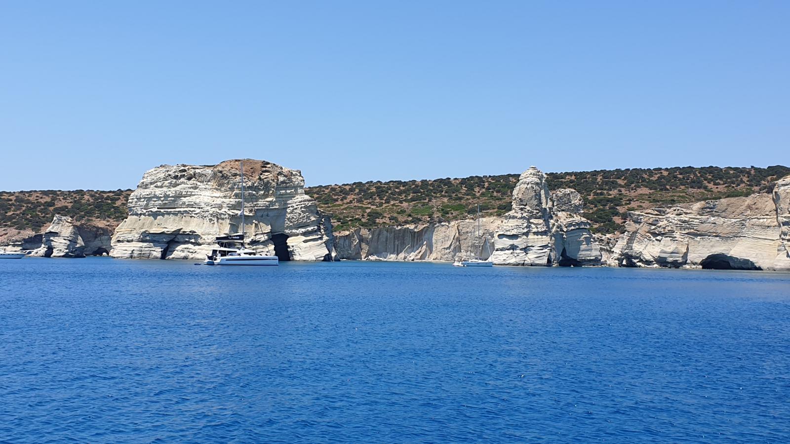 Le grotte dei pirati - Kleftiko - Milos