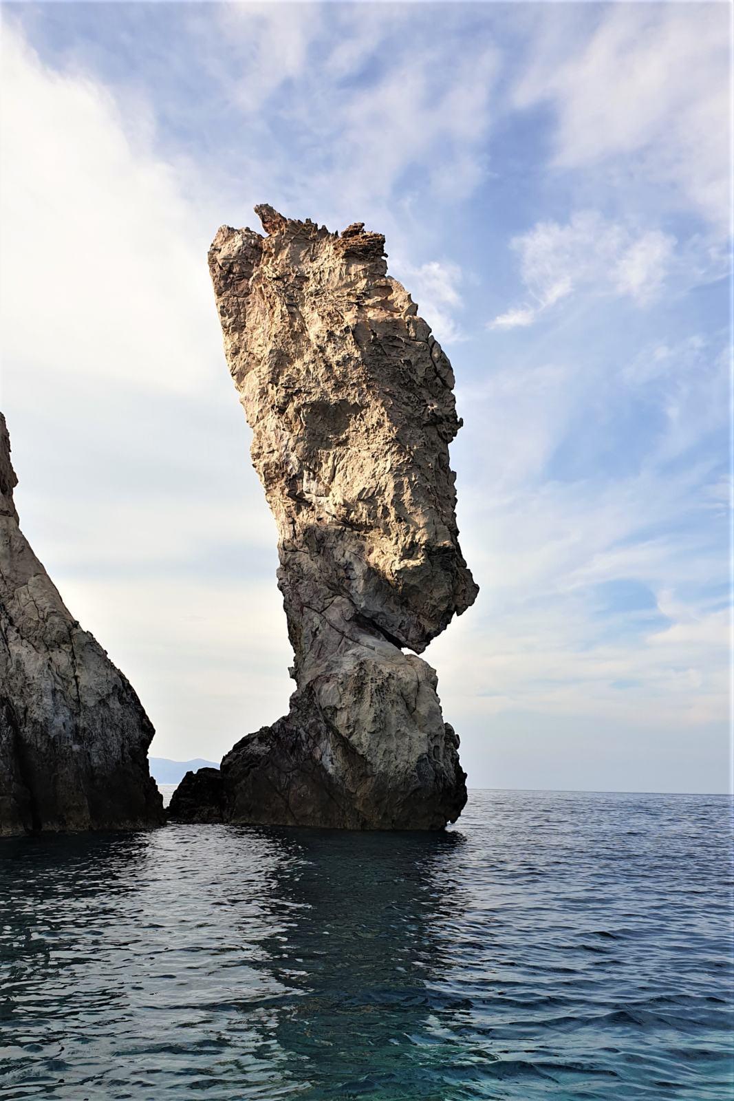 Formazioni rocciose a Polyaigos - Cavallo Asino
