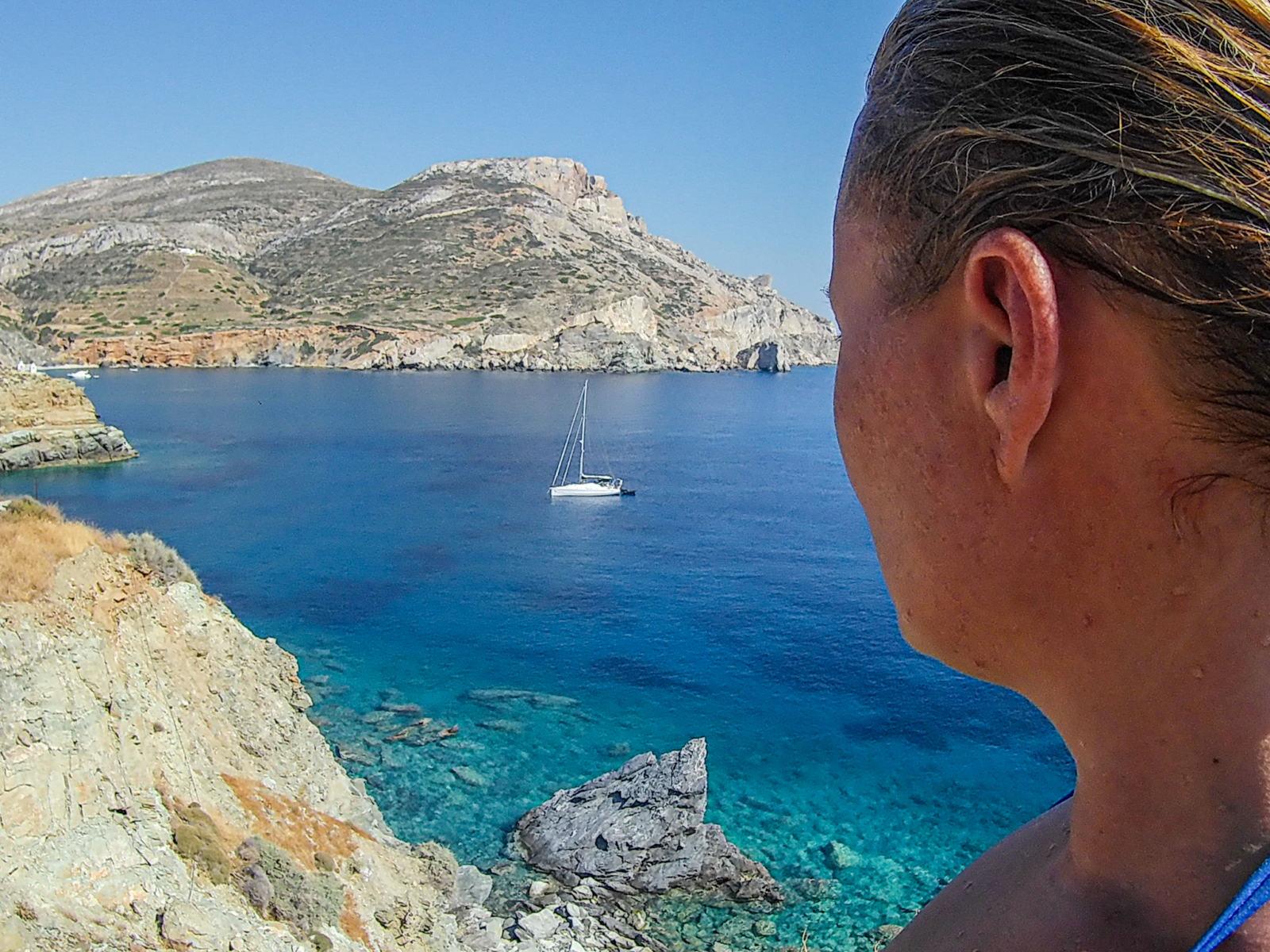 Vista dal sentiero tra Galifos e Agios Nikolaos