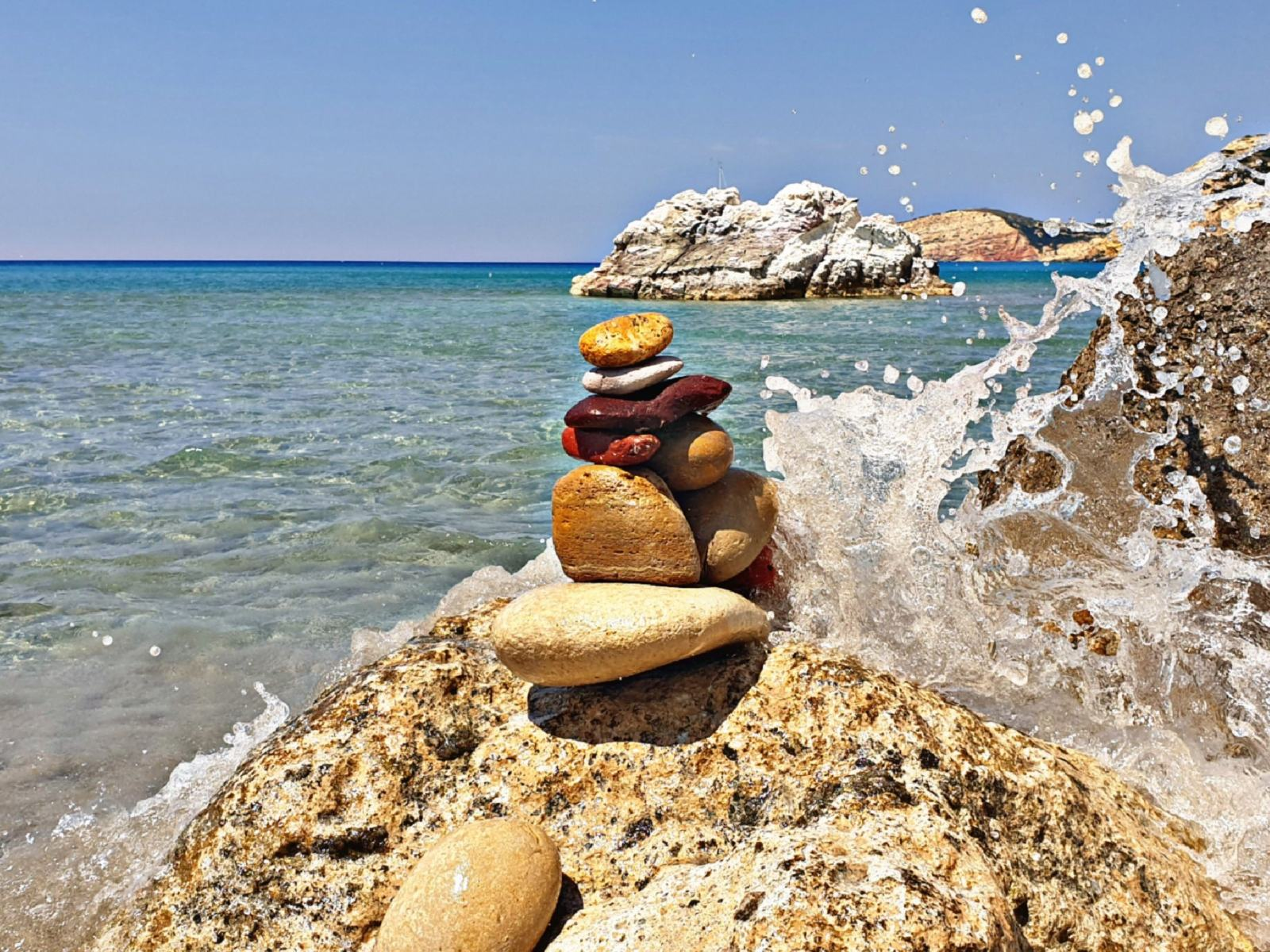 Spiaggia di Fyriplaka - Milos