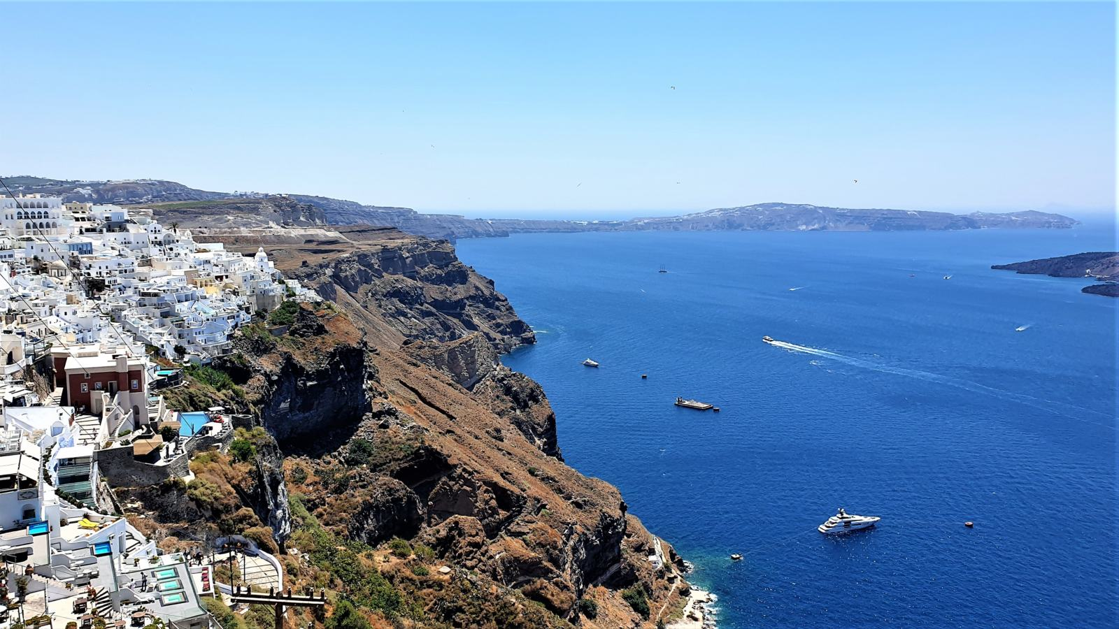 Isola di Santorini - Firà