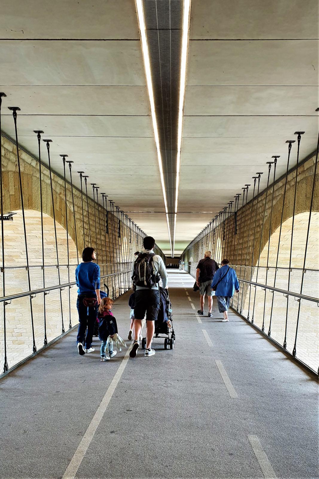 Passerella ciclo-pedonale Ponte Adolphe