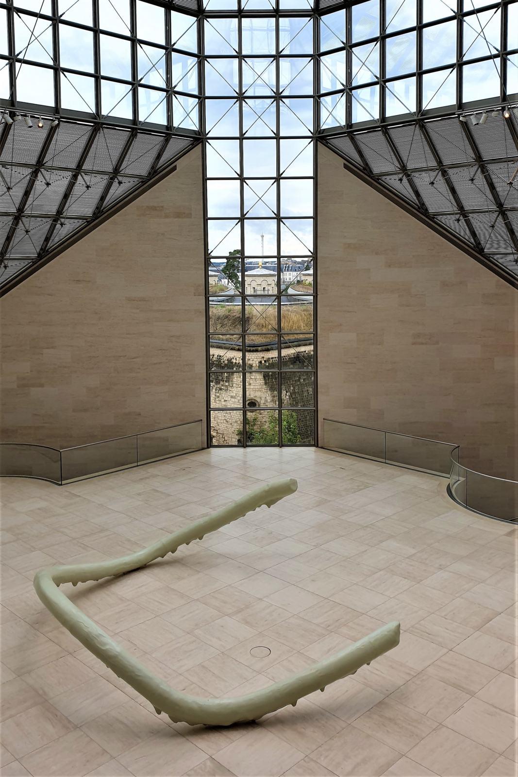 Sala d'ingresso Museo Mudam