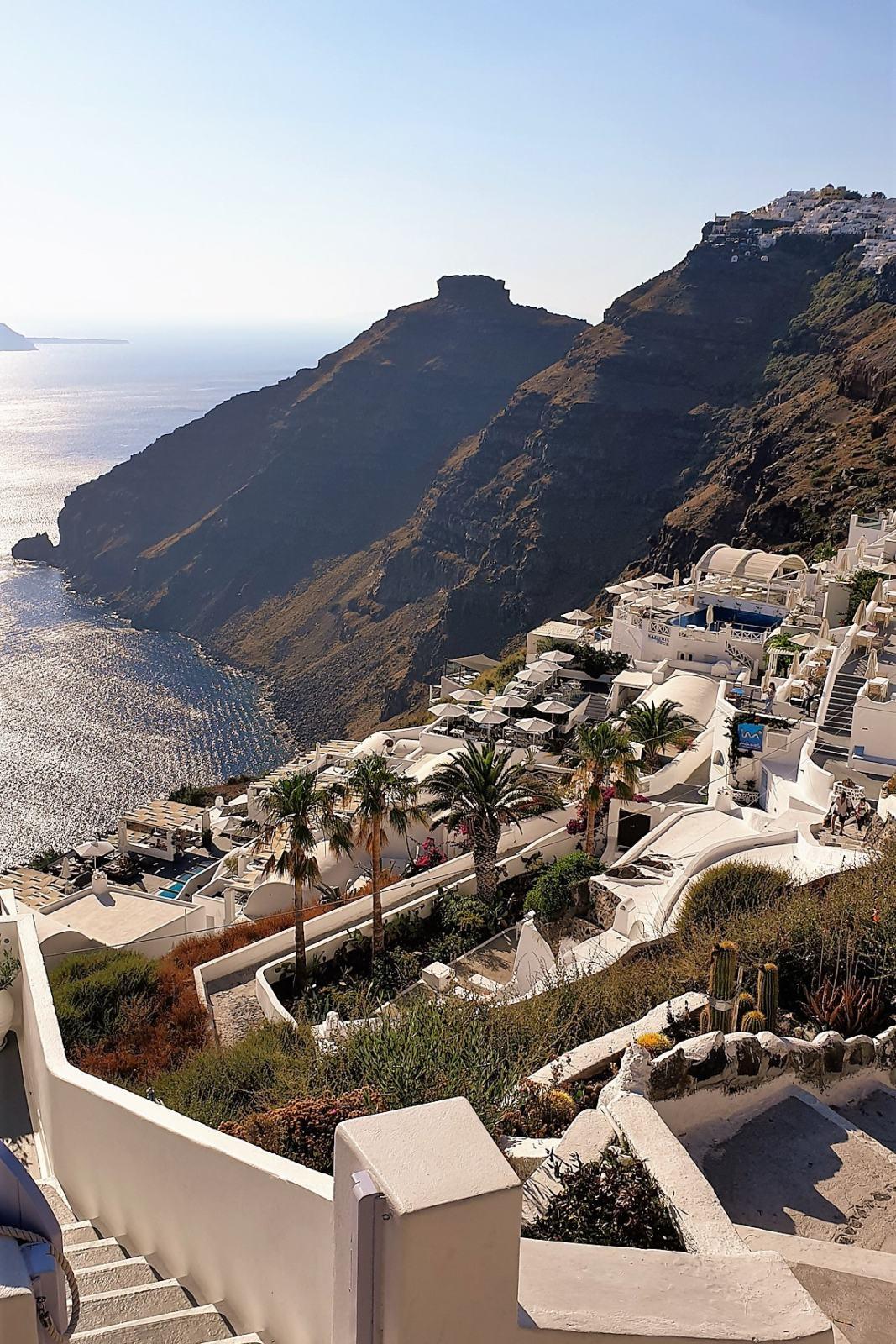 Santorini - Villaggio di Firostefani