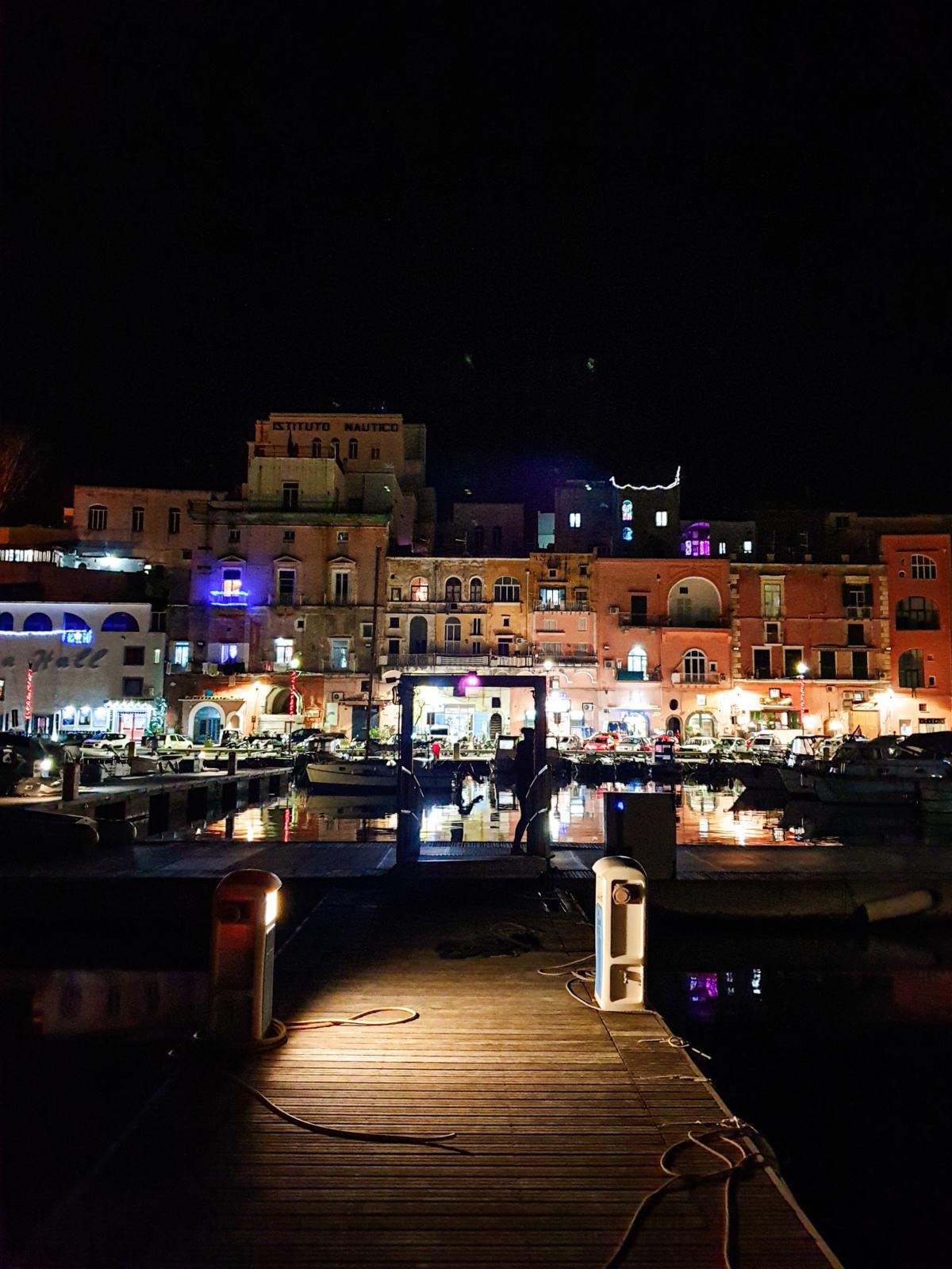 Marina Grande di notte