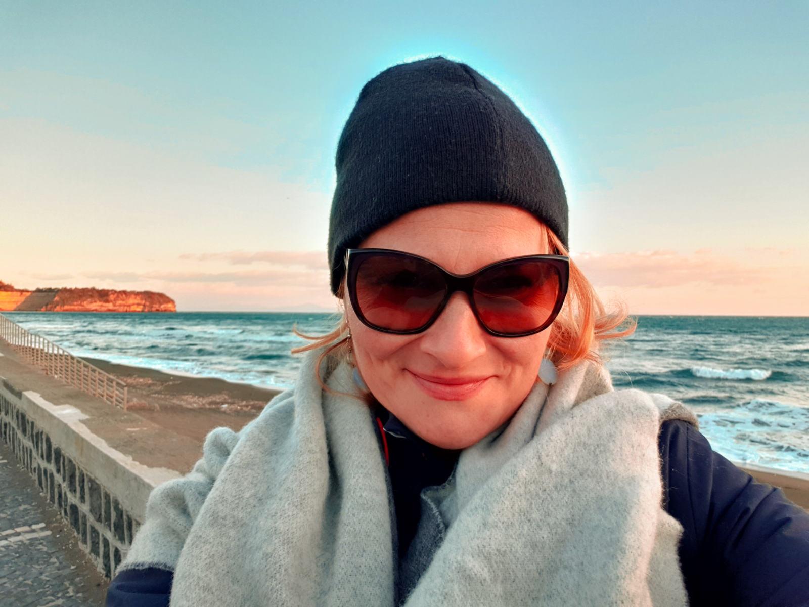 Tramonto dalla spiaggia di Chiaiolella
