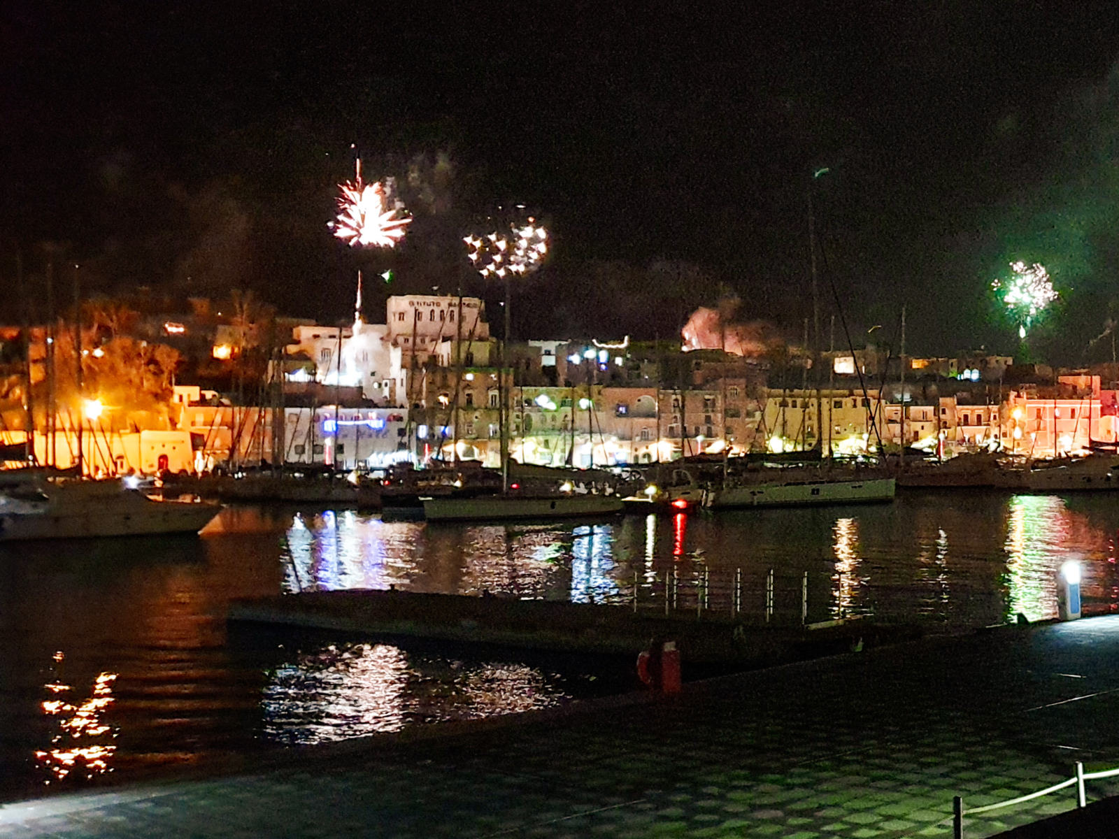 Fuochi d'artificio - Capodanno a Procida