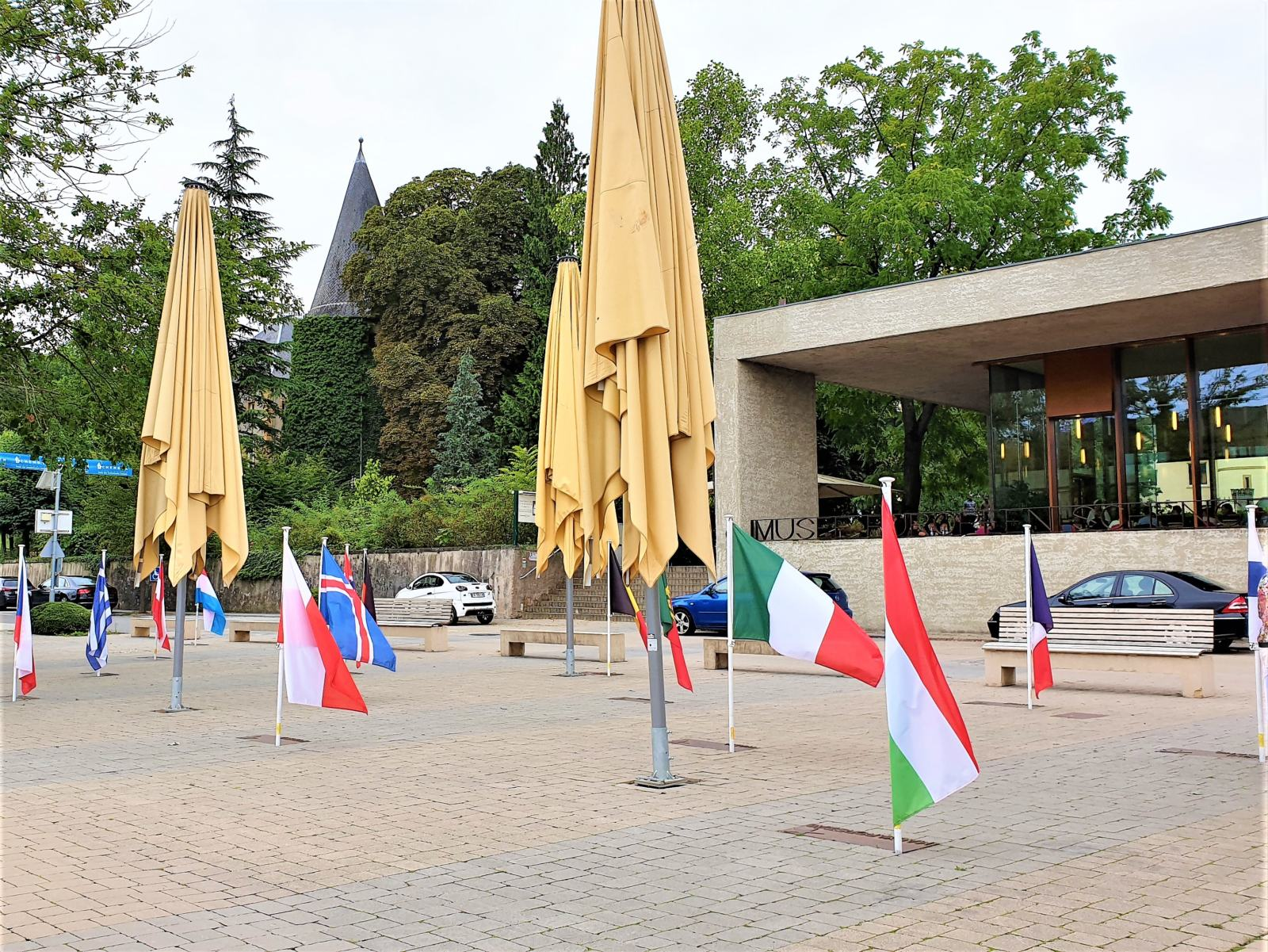 Bandiere dei paesi Schengen