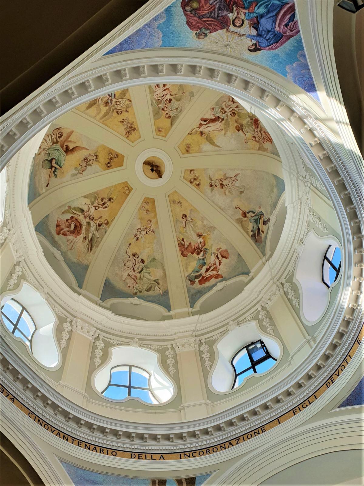 Cupola del Santuario di Santa Maria delle Grazie
