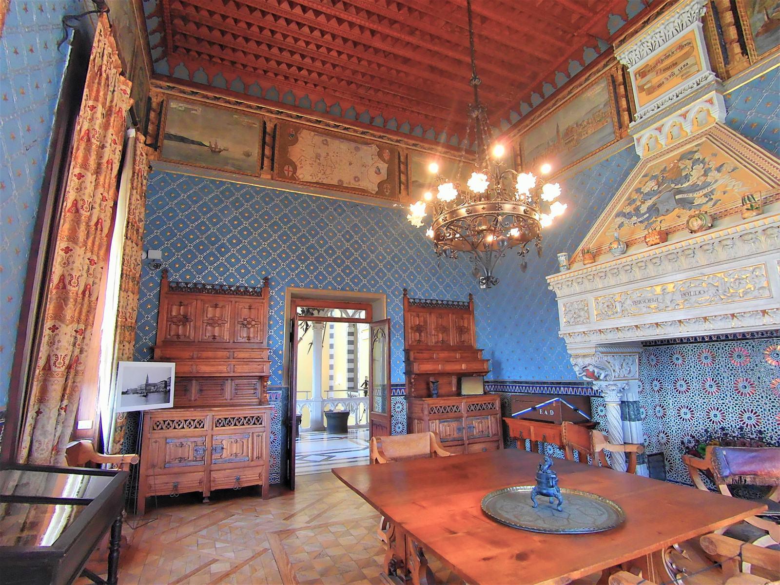 Sala delle Meridiane - Castello D'Albertis Genova