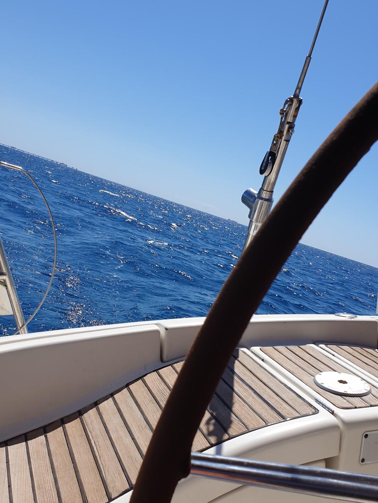 In navigazione verso l'Isola d'Elba